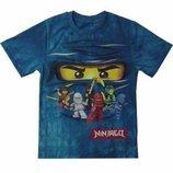 Футболка Ниндзя, Ниндзяго, футболка для мальчика 98-140