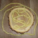 Шнур елочка - лимонный 10 метров