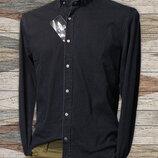 Figo, джинсона, турецька, чоловіча сорочка, чорна, довгий рукав, весняна, осіння