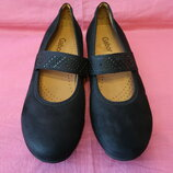Кожаные туфли балетки Gabor оригинал made in Portugal - 7 40 размер