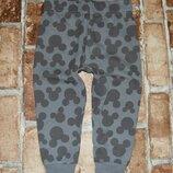 штаны спортивные хб 12-18 мес Disney сток большой выбор одежды 1-16 лет