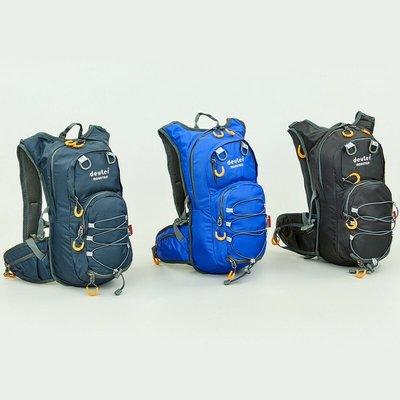 Рюкзак спортивный с жесткой спинкой Deuter 801 ранец спортивный размер 44х20х11см, 15 литров