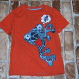 футболка хб Лягушонок 2-3 года F&F сток большой выбор одежды 1-16 лет