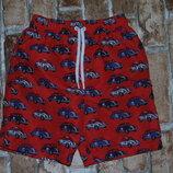 шорты пляжные 3-4 года Matalan сток большой выбор одежды 1-16 лет