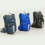 Рюкзак спортивный с жесткой спинкой Deuter 802 ранец спортивный размер 43х20х15см, 15 литров
