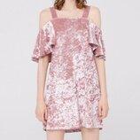 Плаття сукня бархат велюр Платье mango , платье женское , размер s