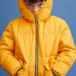 Тёплая куртка mango, деми - еврозима, 116-122.