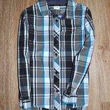 Стильная рубашка в клетку от F&F