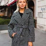 Красивое пальто «Жасмин» две расцветки