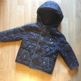 Демисезонная стеганая куртка, курточка для мальчика F&F, р. 1,5-2 г