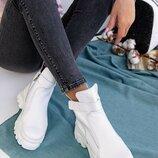 Женские кожаные ботинки, деми