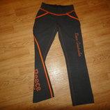 Теплые спортивные штаны, брюки на девочку р. 42-44 S Reece Australia