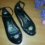 Туфли лаковые школьные девочке