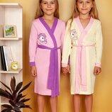 Милый халатик для девочки на 110 - 128 рост