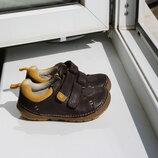 Кожаные туфли мокасины Clarks 20.5 размер