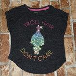 футболка Тролли 2 года Некст сток большой выбор одежды 1-16 лет