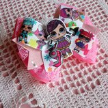 Бантик бант резинка для волос резинки кукла Лол заколки с Лол бантики для девочек