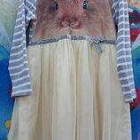 Платье зайка