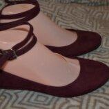 Туфли балетки New look 23.5 см 37 размер