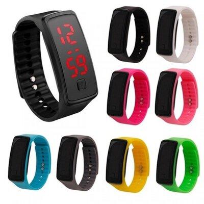 Годинник-Браслет спортивний LED часы unisex