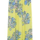 Яркая классная юбка в пол/макси/цветочный принт atmosphere