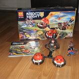 Конструктор Nexo Knight Безумная колесница Укротителя