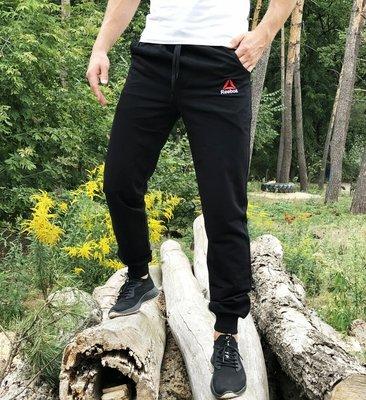 Спортивные штаны Треники Reebok classic black черные