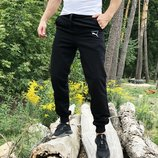Спортивные штаны Треники Puma classic black черные