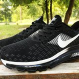 Кроссовки Nike Airmax 2019 black черные