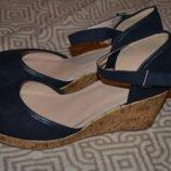 Новые женские босоножки туфли Evans 27.5 см 43 размер Англия