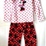 Теплая пижама 7-8 лет Disney Минни Маус рук.45, брюк 80