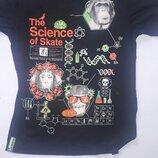 Черная футболка с обезьяной-химиком