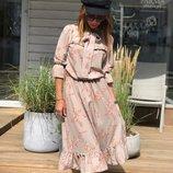 Красивое платье «Одри» 42 - 46 две расцветки
