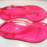 Босоножки сандалии женские Crocs Крокс Кроксы W7, 37