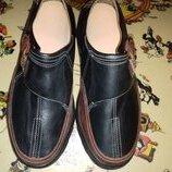 Туфли кожаные новые 26 см