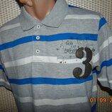 Стильная нарядная фирменная тениска поло футболка Urban Spirit.м .