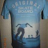 Стильная фирменная футболка H&M Нм .xs-s.11-15 лет