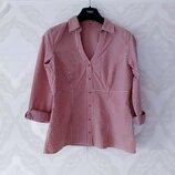 Размер 10-12 Модная фирменная хлопковая рубашка