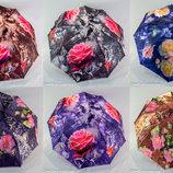 Женский зонтик полуавтомат flowers 103 от фирмы VIVA .