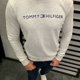 Стильній мужской свитшот Tommy Hilfiger,3 цвета S-M-L-XL-ХХL