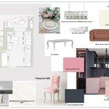 Дизайн, перепланировка, расстановка мебели, рабочие чертежи