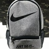 Рюкзак Nike just do it grey серый