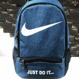 Рюкзак Nike just do it blue голубой