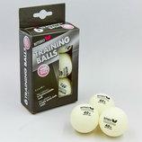 Набор мячей для настольного тенниса Butterfly Training 85140 6 мячей в комплекте