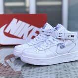 Кроссовки мужские Nike Air Force 1 белые