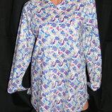 STI Шикарная удлинённая рубашка в принт - XXL - XL