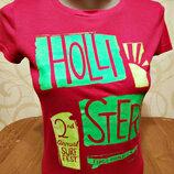 футболка от Hollister, оригинал р. S