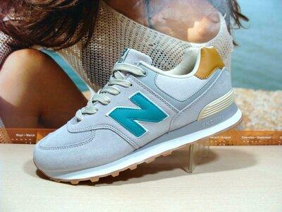 Мужские кроссовки New Balance 574 серые 41р-45р