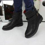Женские ботиночки нат.кожа Код 1112 Материал врха нат.КОЖА