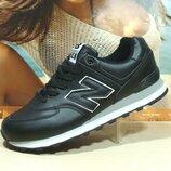 Мужские кроссовки New Balance 574 черный 41р-46р